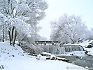 Зима на реке Ала-Арча
