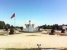 Площадь Ала-Тоо вид на север
