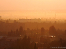 Закат в Бишкеке